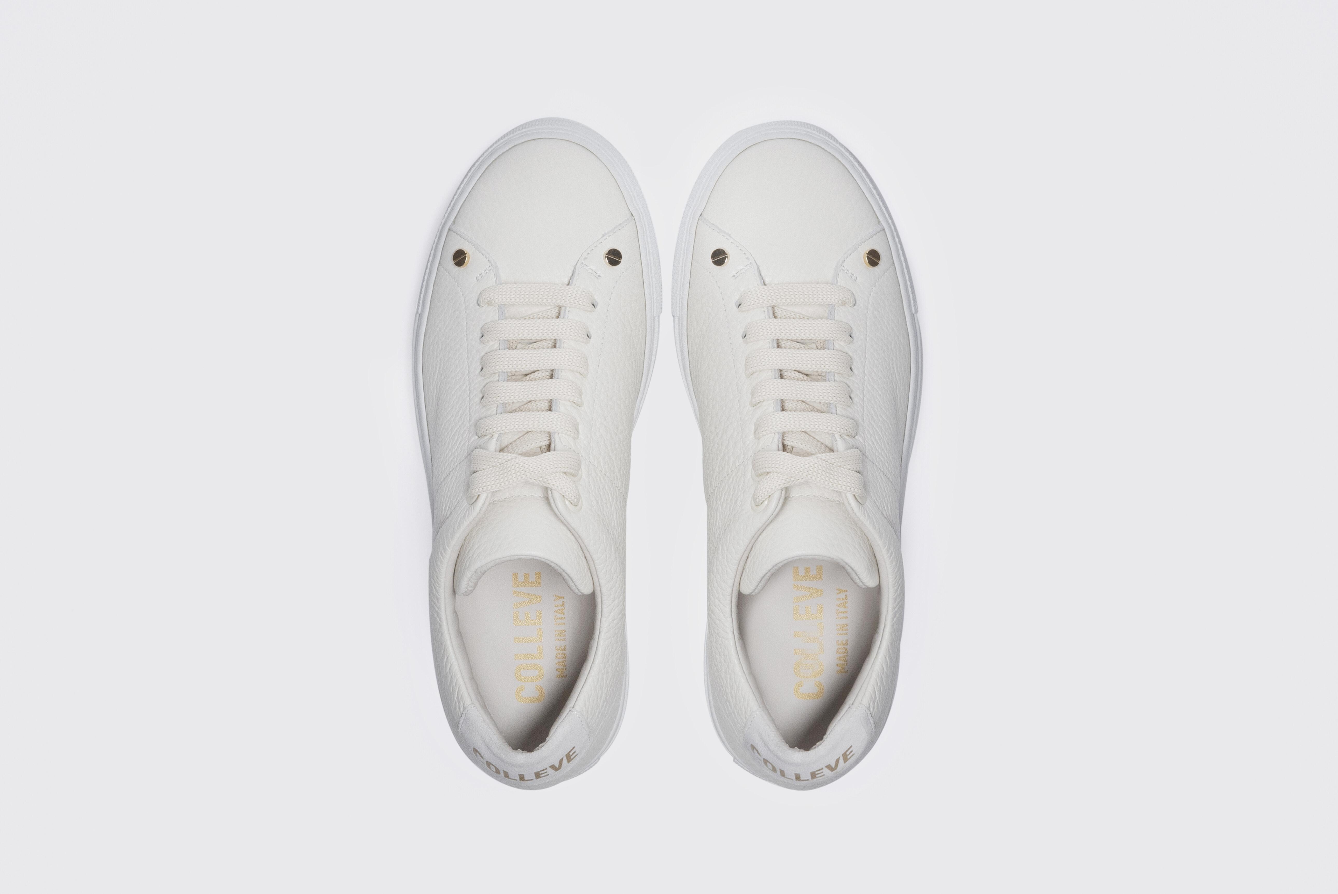 콜레브(COLLEVE) Senso White Lace-up