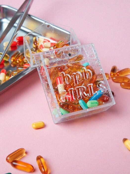 Girls Acrylic Case_Silver