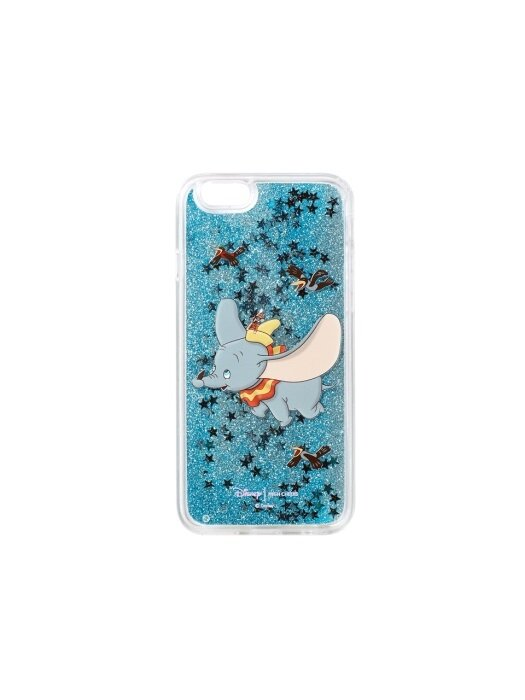 Flying Dumbo Glitter Case