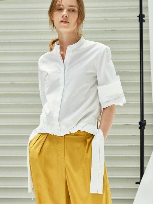 [FRONTROW x COLLABOTORY] Thomas Mason® Slit-sleeve Shirt