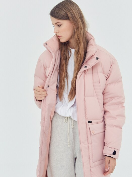 [AW17] Bench Long Down Parka(Pink)