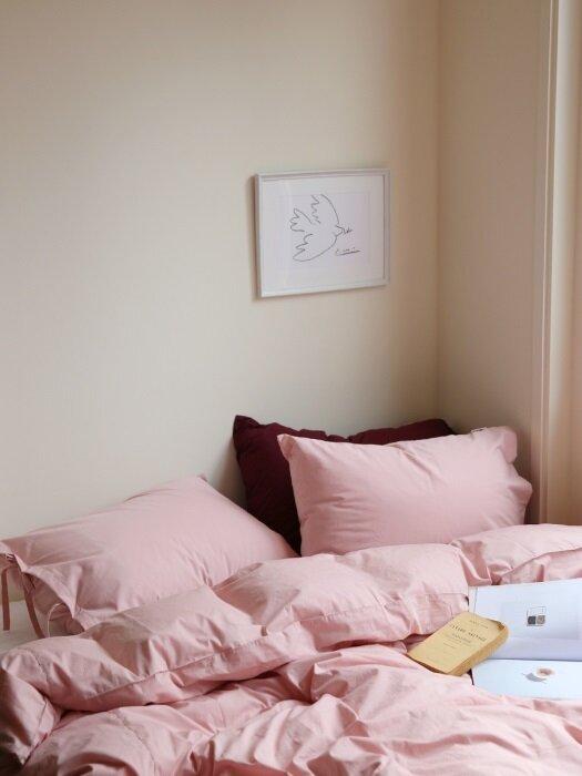핑크룸 베딩세트