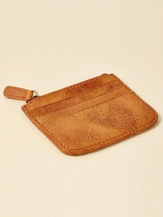 수제가죽 지퍼 카드지갑Zipper Card wallet JB812-002(n)