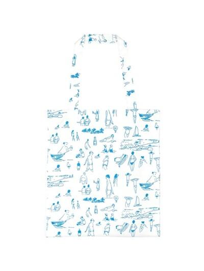 [SS18 NOUNOU] Summer Beach Tote Bag(White)