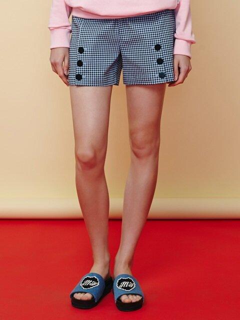 check button shorts