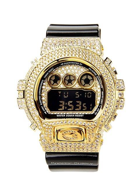 DW6900-GCBKGD / GOLD (BLACK BAND) G-SHOCK 커스텀 DW-6900