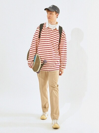 Standard Chino Pants (Beige)