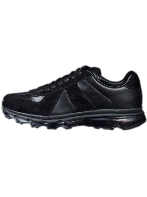 [WOMEN] leather air sneakers [black]