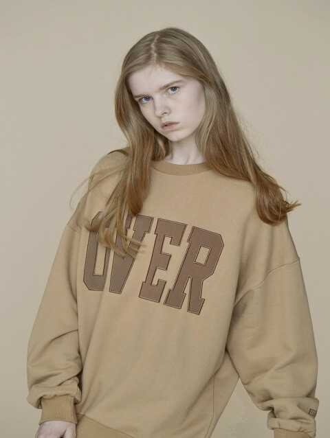 [15% SALE] OVER SWEATSHIRT BR