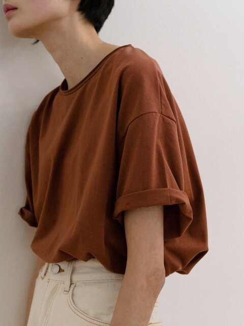 Box T-Shirt (Saddle Brown)