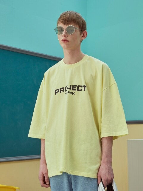 Trunkproject logo Tshirt_yellow