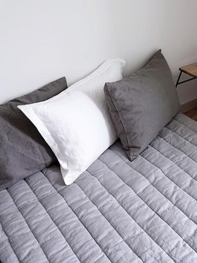 soft linen pad  gray(808)