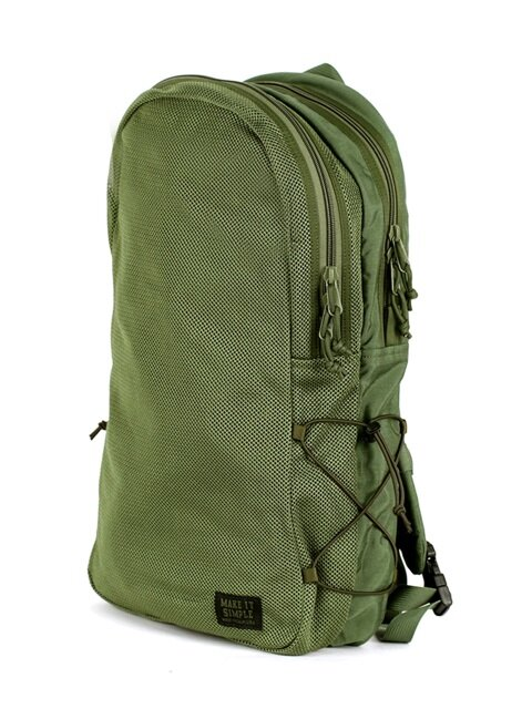 Mesh Backpack - Camo Green
