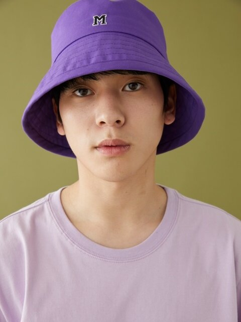 M LOGO BUCKET HAT ULTRA VIOLET