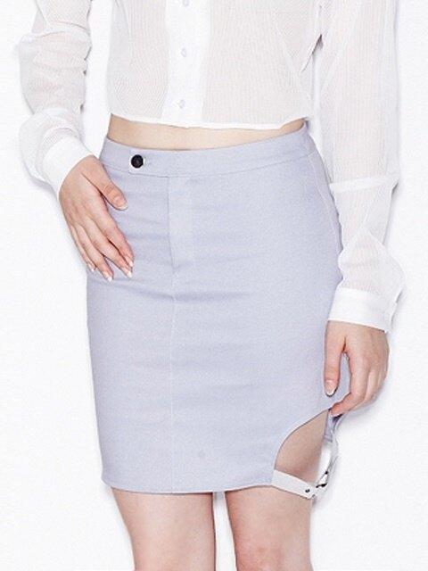 side belt skirt