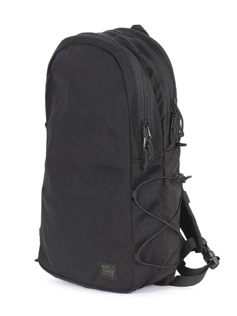 Mesh Backpack - Black