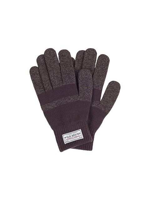 BASIC TOUCH GLOVES (brown)