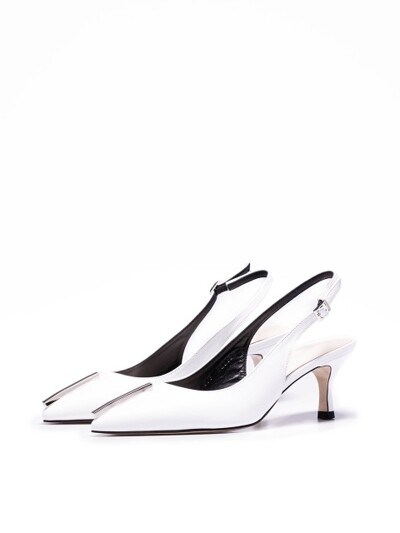 SEMEI slingback heel - HN035-SHWH