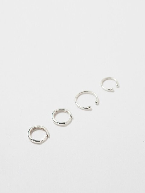 [SILVER 92.5] LUCID SIMPLE EARRING