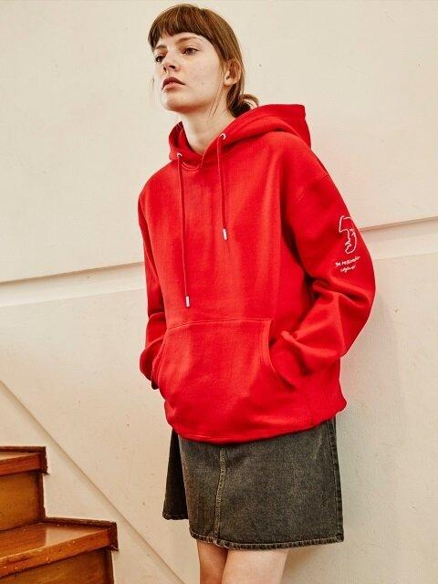 RESSEMBLER HOODIE (RED)