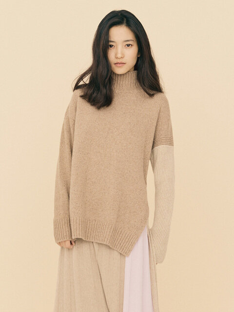 [FRONTROW x RePLAIN] Alpaca Loose fit  Pullover