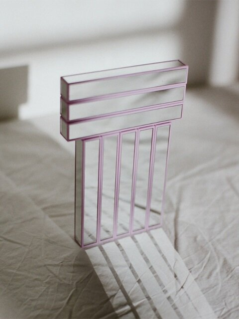 THE MIRROR [PALE PURPLE]
