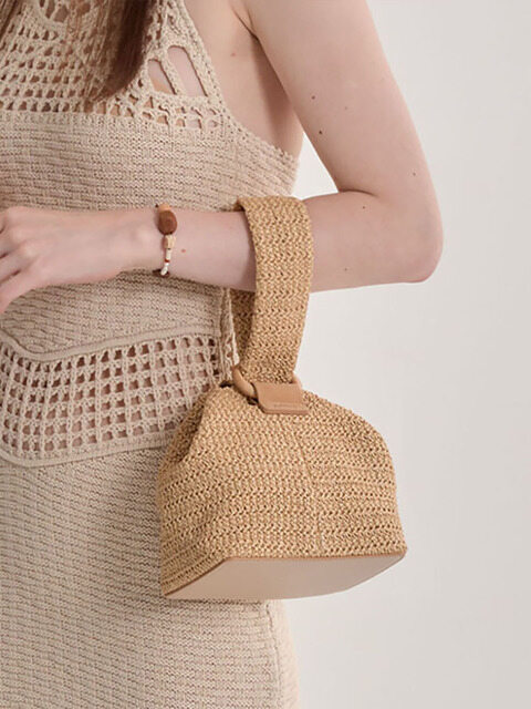 Bubble Basket Bag (2colors)