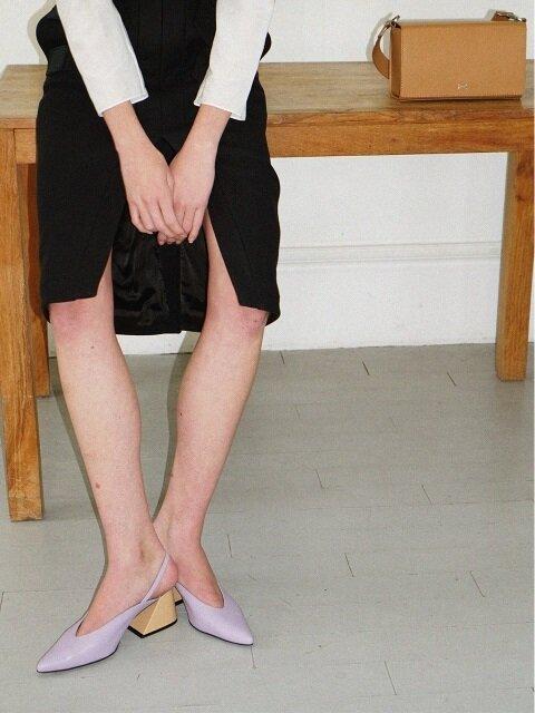 Elle-même sling-back sandals