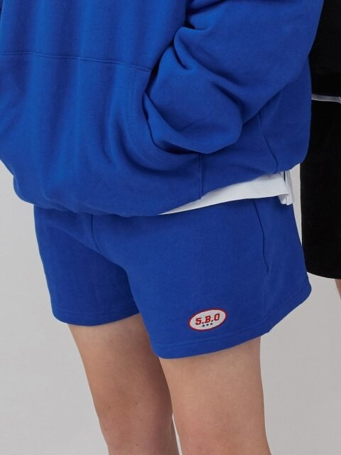 5.B.O MINI LOGO SHORTS_blue