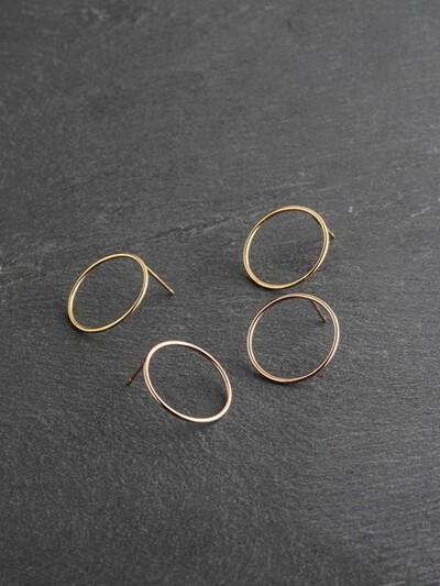 FULL MOON EARRING (silver925)