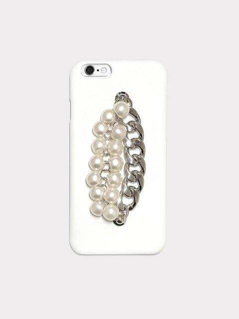 pearl chain white case