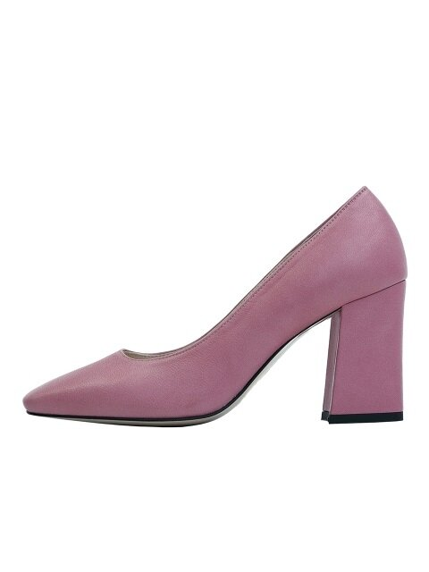 BASIC SQUARE HEEL - PINK