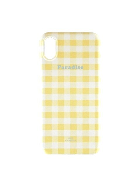 GINGHAM CHECK Phone case - Paradise