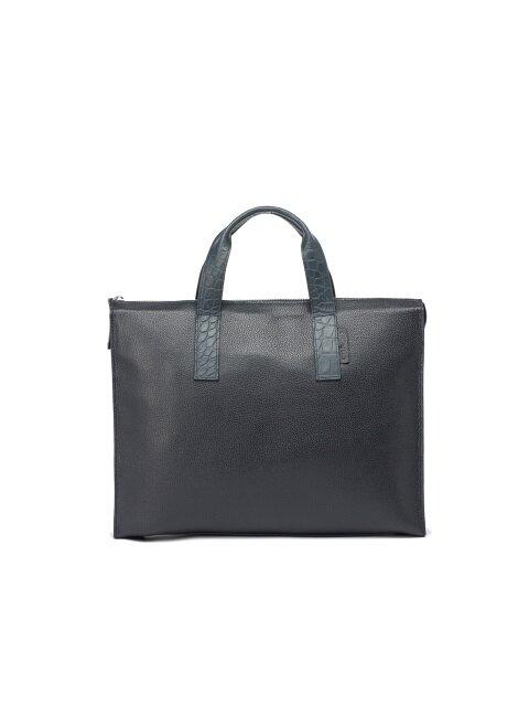 Slim Boston Bag [Navy]