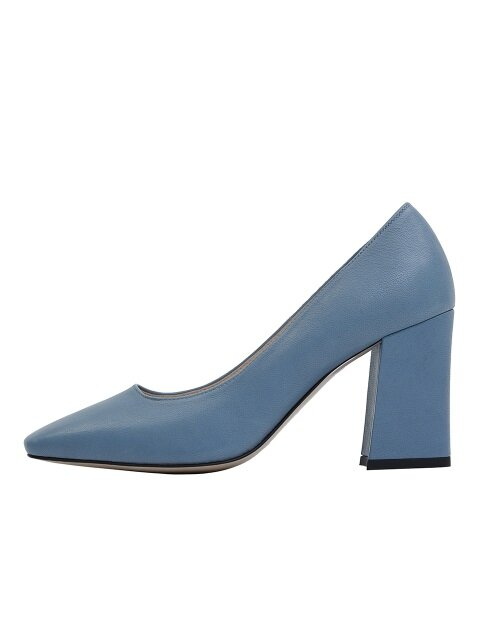 BASIC SQUARE HEEL - BLUE