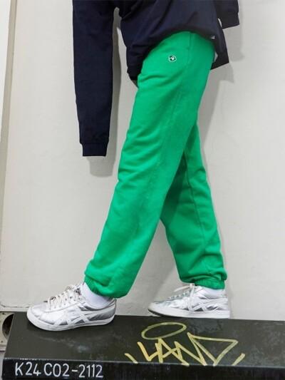 KANCO LOGO SWEAT PANTS green