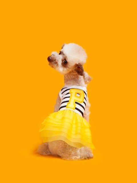 Stripe tutu-Yellow
