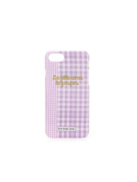 PFS iPhone8 010 Check Violet