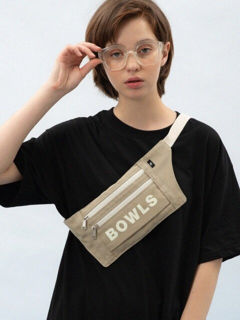 OXFORD WAIST BAG [KHAKI]