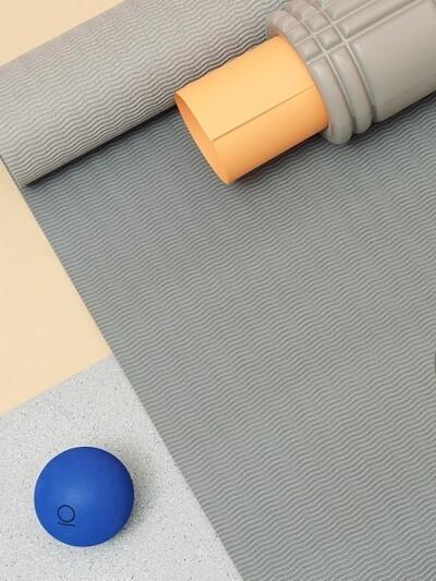 마이 페이보릿 투톤 요가매트 (샌드&스톤, PVC)