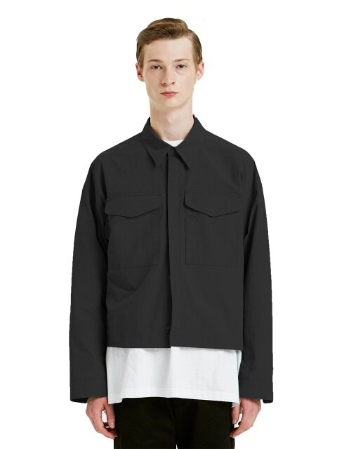BIG POCKET JACKET black