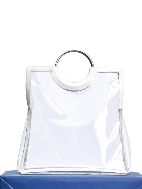 plain bag- white