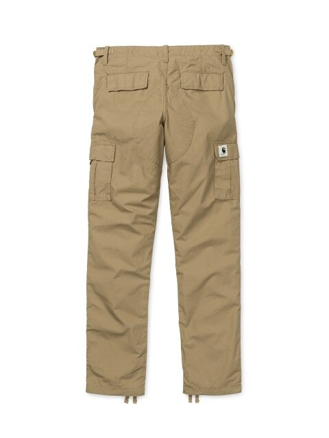 W AVIATION PANT COLUMBIA (LEATHER RINSED)