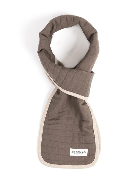 COTTON QUILTED STOLE (beige)