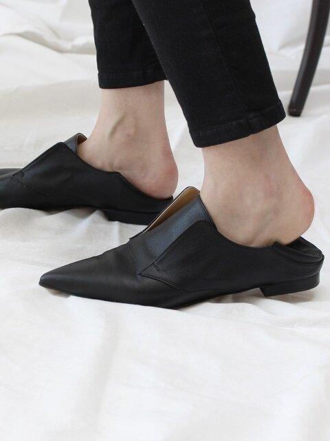 nostring shoes black