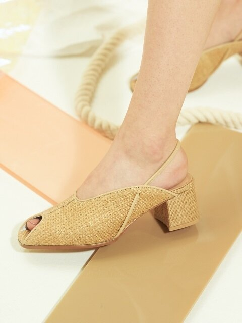 WITE C12 - NATURAL RATTAN SLING BACK
