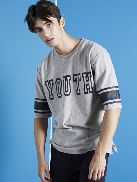 YOUTH TEE (GY)