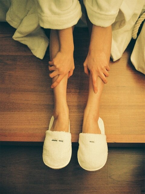 타월 슬리퍼 THE TOWEL SLIPPERS [WHITE]