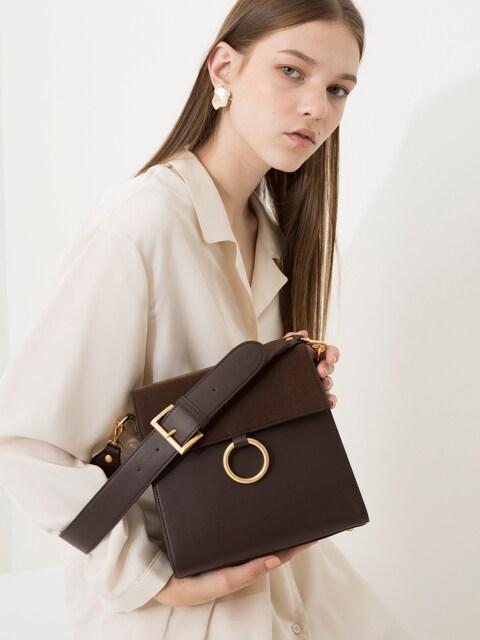 Two strap bag ver.2_brown