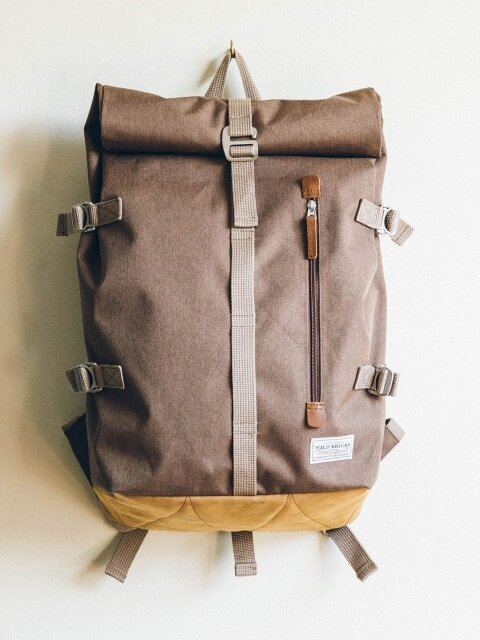 ROLL-TOP BACKPACK (beige)